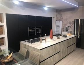 Cucina Cucina hpl + vetro opaco nero moderna altri colori ad isola Cucine noventa