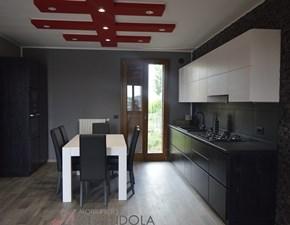 Cucina Cucina moderna design  design bianca lineare Mirandola