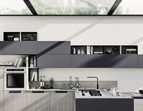 Cucina Cucina stile unico moderna altri colori con penisola Colombini casa