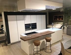 Cucina Cucine noventa Cucina laccato opaco + rovere massiccio OFFERTA OUTLET