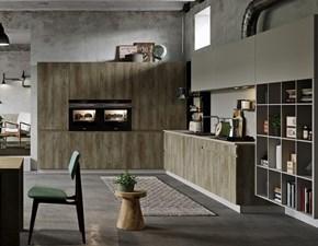 Cucina Cucine store moderna ad angolo altri colori in laminato materico Lignea