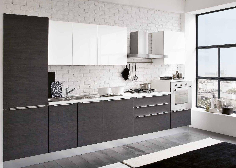 Cucina astra cucine iride laccato o vela moderna laccato lucido cucine a prezzi scontati - Metratura minima bagno ...