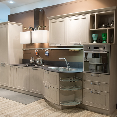 Vendita cucine esposizione cucina lube in legno e cappa - Svendita cucine da esposizione ...