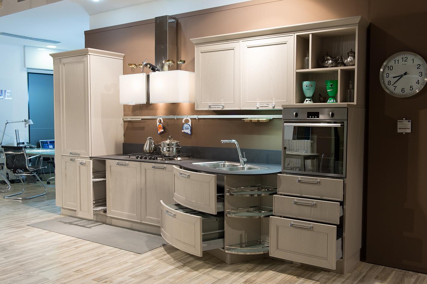 Cucine Scontate Esposizione. Good Outlet Cucine Cucina In Offerta ...