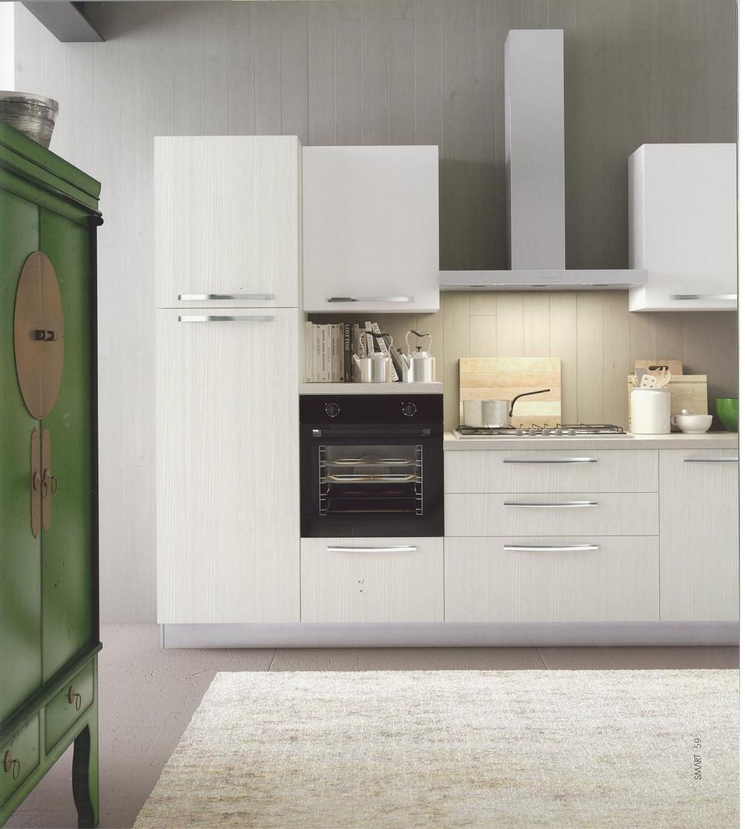 Cucina dal design moderno modello cloe finitura lino arredo3 cucine personalizzabile cucine a - Arredo 3 cucine ...