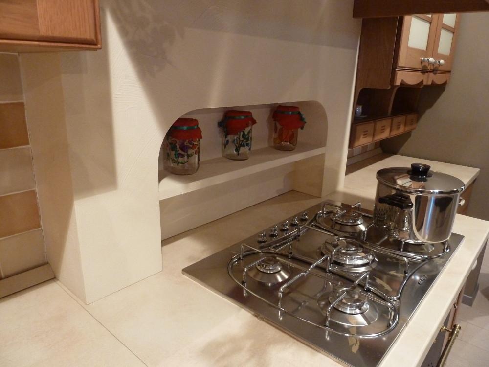Cucina DALYLA in Rovere Miele scontata - Cucine a prezzi scontati
