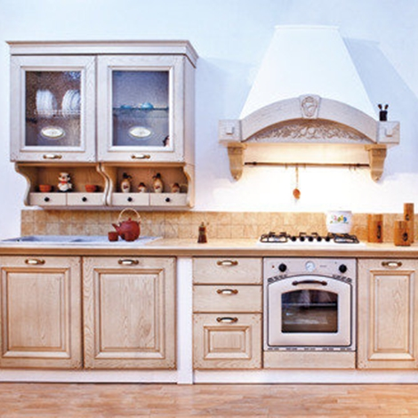 cucina decapè finta muratura - Cucine a prezzi scontati