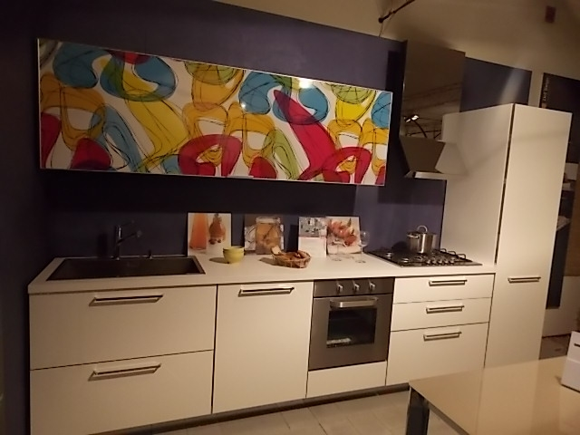 Cucina del tongo maratea moderna laminato lucido bianca - Cucine del tongo opinioni ...