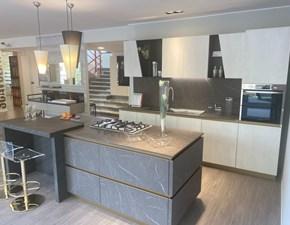 Cucina Delinea  design grigio ad isola Scavolini