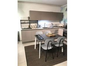 Cucina design ad angolo Dibiesse Spring a prezzo ribassato