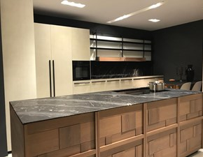 Cucina design ad angolo Zampieri cucine Irori a prezzo scontato