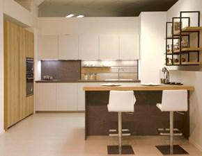 Cucina design ad isola Arredo3 Mod zetasei a prezzo scontato