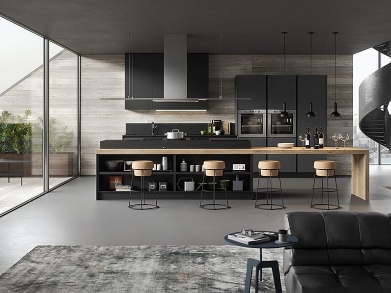 Cucina design ad isola gicinque cucine de sign a prezzo for Design scontato