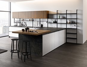 Cucina design ad isola Md work Progettazione cucina interni azienda a prezzo ribassato