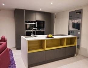 Cucina design altri colori Armony cucine ad isola Omicron in Offerta Outlet