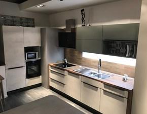 Cucina design altri colori Artigianale ad angolo Riva cemento bianco scontata