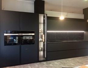 Cucina design altri colori Artigianale lineare Atelier black new fenix - paolo biordi designer in Offerta Outlet
