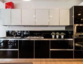 Cucina design altri colori Dibiesse lineare System scontata