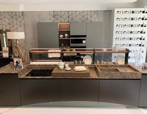 Cucina design altri colori Ernestomeda ad isola Soul in Offerta Outlet