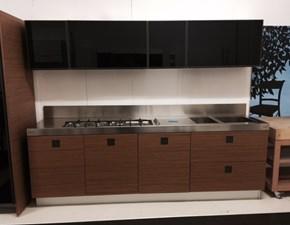 Cucina design altri colori Ernestomeda lineare Silver tk in Offerta Outlet