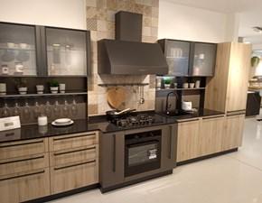 Cucina design antracite Veneta cucine lineare Start time in Offerta Outlet