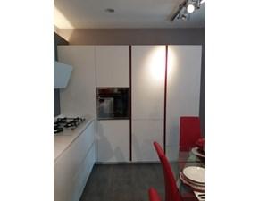 Cucina design bianca Arrital cucine ad angolo Ak 03 in Offerta Outlet