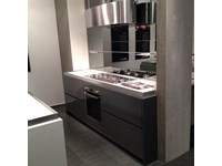 Cucina design bianca Salvarani ad isola Long line in Offerta Outlet