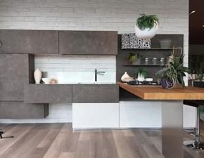 Cucina design con penisola Lube cucine Cucina mod. oltre a prezzo scontato