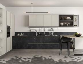 Cucina design grigio Colombini lineare Linea scontata