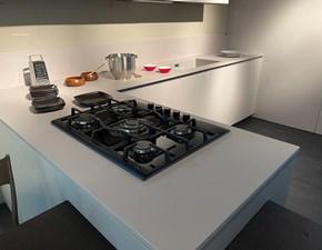 Cucina design grigio Copat cucine con penisola Copat 3.1  scontata