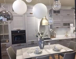 Cucina design grigio Evo cucine lineare Gea - grigio fumo scontata
