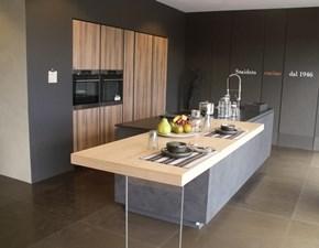 Cucina design grigio Snaidero ad isola Way in Offerta Outlet