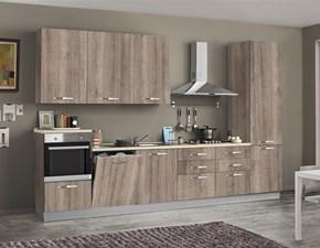 Cucina design larice Artigianale lineare Asa arredamenti in Offerta Outlet
