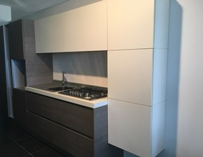 Cucina design lineare Artigianale Basic a prezzo ribassato