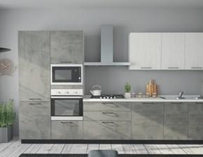 Cucina design lineare Artigianale Teknica a prezzo scontato