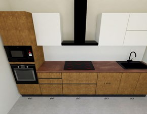 Cucina design lineare Astra Sp22 a prezzo scontato