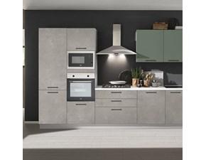 Cucina design lineare Net cucine Ambra a prezzo scontato