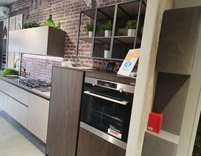 Cucina design lineare Snaidero Look a prezzo ribassato