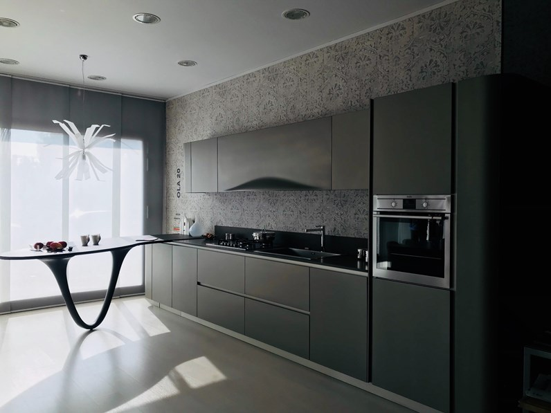 Cucina design lineare Snaidero Ola 20 a prezzo ribassato