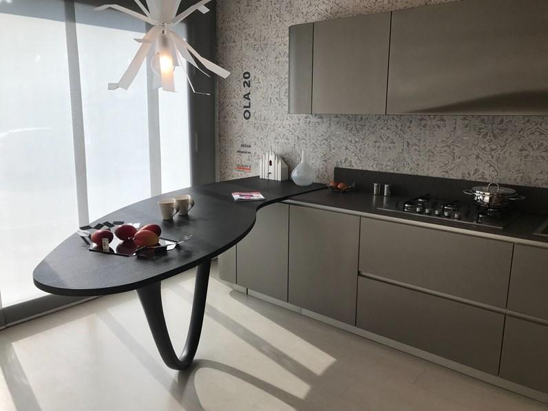 Cucina design lineare snaidero ola a prezzo ribassato