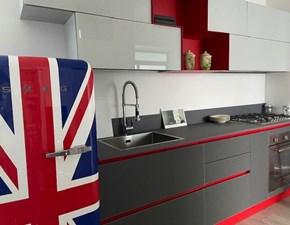 Cucina design lineare Stosa Aliant a prezzo ribassato