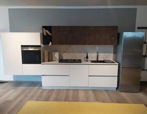 Cucina design Mod. Seta-accapielle  in Super-offerta