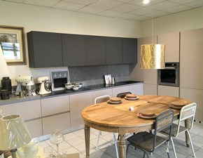 Cucina design tortora Ar-tre ad angolo Silkki in offerta