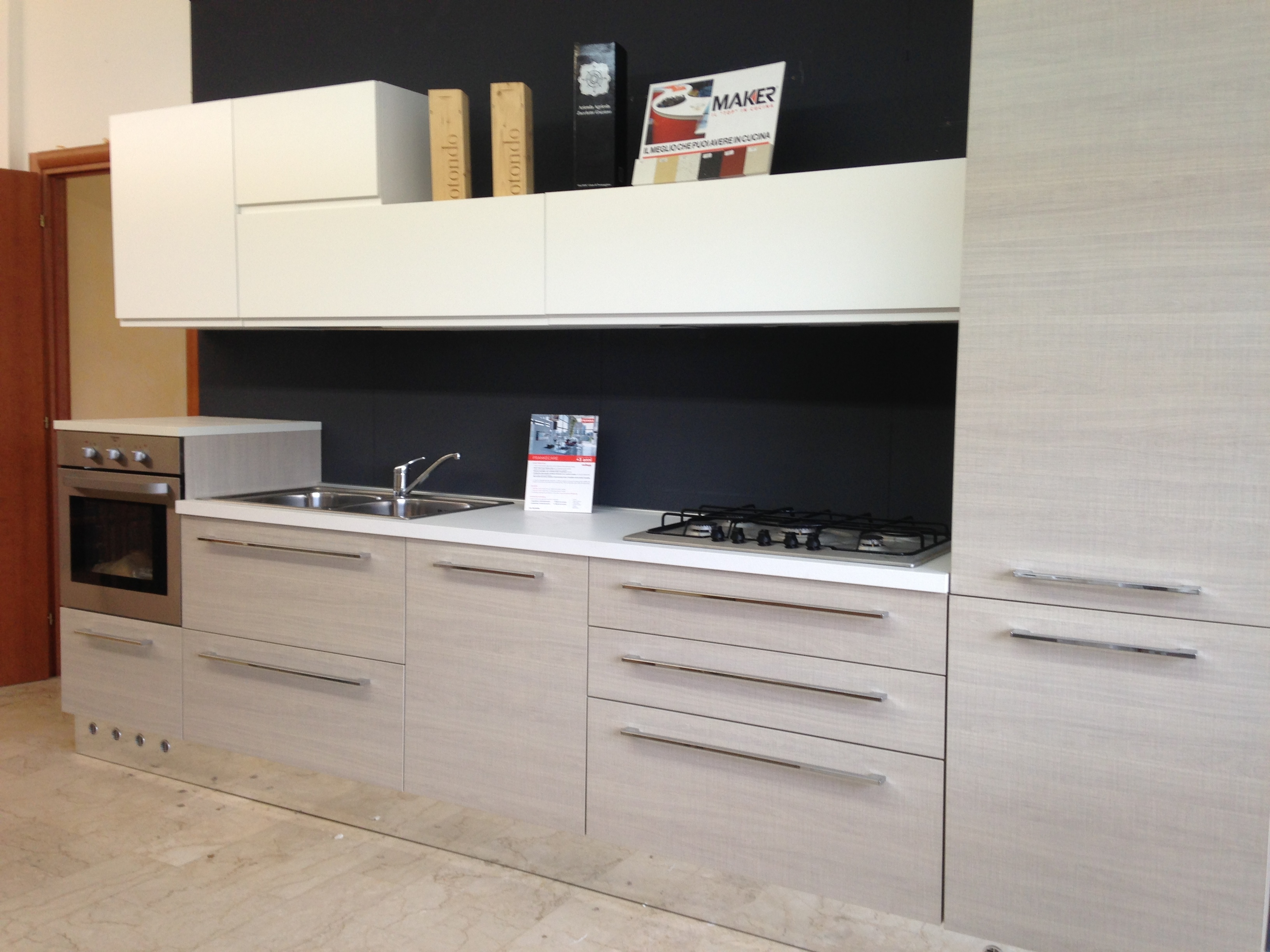 Cucine In Rovere Sbiancato. Beautiful Ernestomeda Elektra With ...