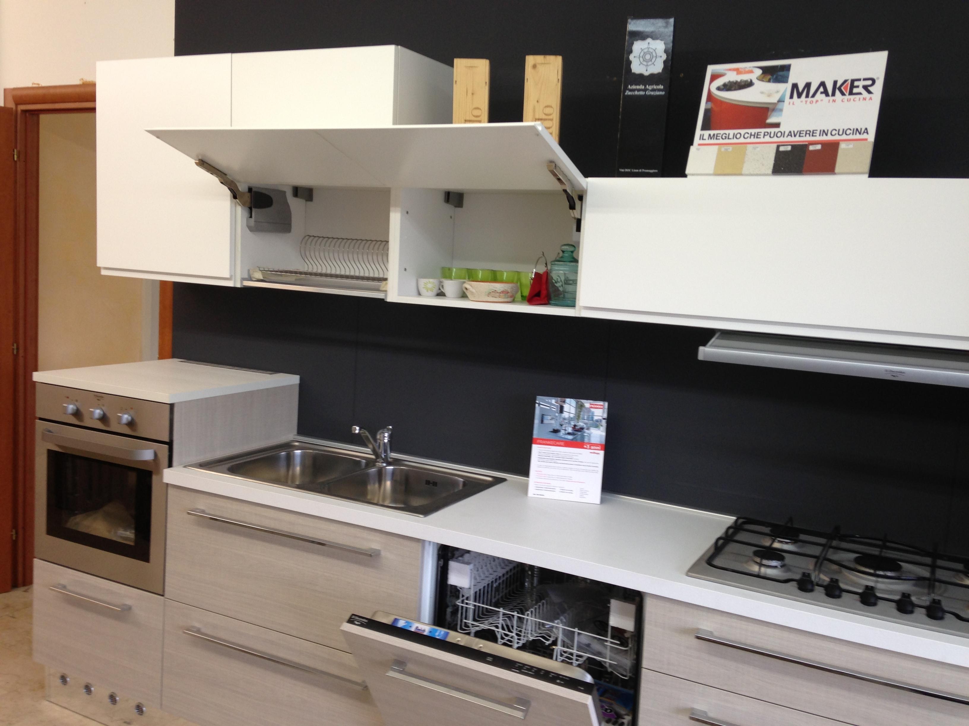 cucina color tiffany : Cucina di mostra cm 360 - Cucine a prezzi scontati