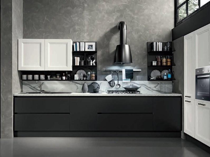 Cucina di nuovi mondi cucine industrial frame offerta outlet - Cucine di esposizione outlet ...