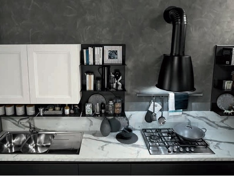 Cucina di nuovi mondi cucine industrial frame offerta outlet for Cucine di design outlet