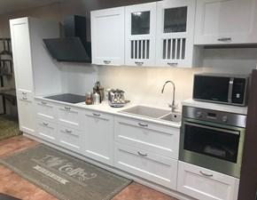 Cucina Dibiesse classica lineare bianca in laccato opaco Asolo
