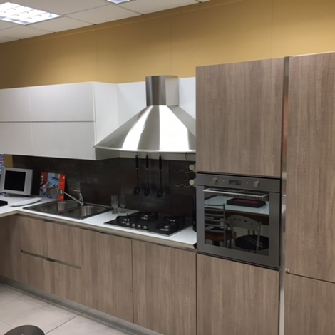 Cucina dibiesse dream laminato materico cucine a prezzi scontati - Laminato in cucina ...