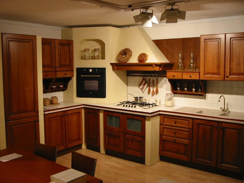 Cucina Ad Angolo In Muratura : Cucina dibiesse in muratura ad angolo epoca scontata